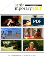 California Contemporary Art - Summer 2011