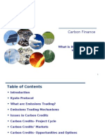 Comprehending Carbon Finance - A to Z of CDM [Pakistan Perspective]