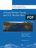 China's Nuclear Weapons and the US Plan