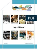 Deconstruction Magazine Layout Guide Spring 2011