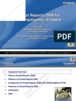Crystal Reports Feature