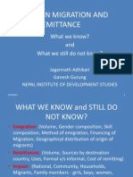 Foreign Migration and Remittances_Adhikari and Gurung 2011