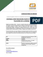 Inauguración Cocinas.com Talavera de La Reina