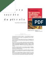 Bergier Jacques - La guerre secrète du pétrole
