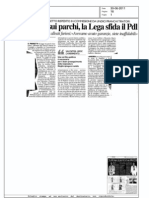No alla legge sui parchi, La Lega sfida il Pdl (Il Giorno)