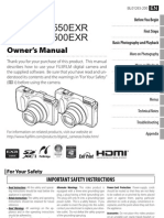 Finepix F500exr Series Owner's Manual