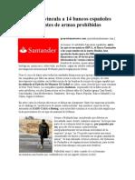 BANCOS ESPAÑOLES Y FABRICANTES DE ARMAS