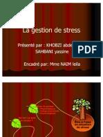 La Gestion de Stress