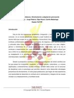 Inmigrantes colombianos. Afrontamiento y adaptación psicosocial