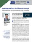 Modernisation de l'Armée rouge - Notes d'Analyse Géopolitique n°26