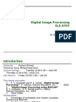 18484530 Image Processing Lecture 1