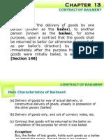 Contract of Bailment