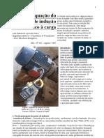 Adequação do Motor de Indução Trifásico à Carga