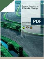 ASA CSSA SSSA Climate Change Policy Statement