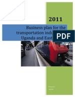 Business Plan for the Transportation Industry in Uganda and East Africa