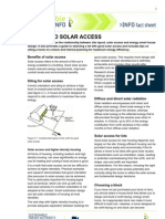 Siting and Solar Access