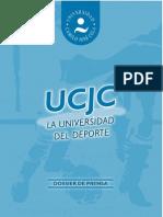 Dossier de Prensa UCJC de Deportes