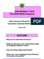 Essentials of Newborn Care[1].DOH-WHO Protocol.pps Southern Tag [Compatibility Mode]