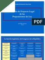 Analisis Del Impacto Legal de Las Proposiciones de Ley