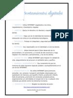 10 Comportamientos Digitales