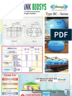 Septic Tank Biotech System (BioSys) BC-Series