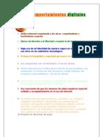 Los 10 Comportamientos Digitales - Tomi Azcue