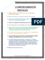 Los 10 Comportamientos Digitales