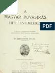 SGY a Magyar Rovasiras He