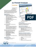 AlgoSec Firewall Analyzer Datasheet