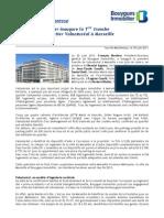 Bouygues Immobilier inaugure la 1ère tranche du nouvel eco-quartier Valnaturéal à Marseille