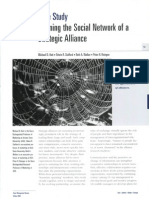 39098472 Day1 Bis Hutt 2000 Case Study Defining the Social Network of a Strategic Alliance