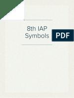 8th IAP Symbols