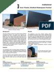 Solarwall Case Study - Avon Theatre; Stratford Shakespeare Festival - solar air heating system