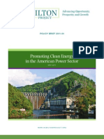 Promoting Clean Energy in the American Power Sector