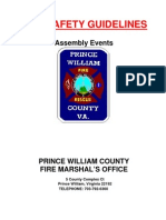 Fire Guidelines