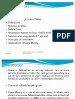 Gmae Theory