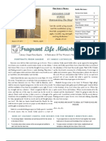 Calvary Chapel Reno-Sparks Women's Newsletter Mar-Apr, 2011