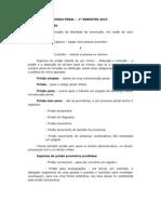 Resumo de Processo Penal