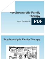 Psychoanalytic Family Therapy