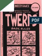 Twerps - Basic Rules (Gamescience - GS 10455)