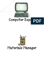 Computer Expert Materials Manager