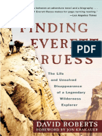 Finding Everett Ruess by David Roberts - Excerpt