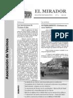 El Mirador - Boletín 4 (Julio 2006)