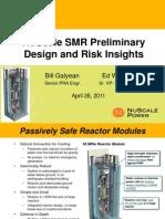 NuScale DOE-SMR Slides for 2011-April-26