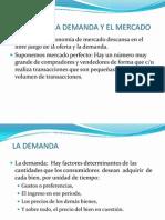 La Oferta, La Demanda y El Mercado v.1