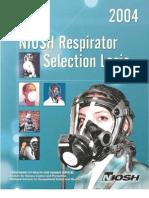 NIOSH Respirator Selection Logic PDF