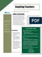 Newsletter - July 2011