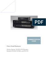 Cisco RV0xx Series VPN Routers (Administration Guide)