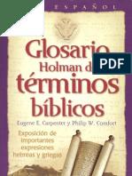Glosario Holman de términos bíblicos