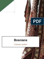 Bosnia - Cultural Profile